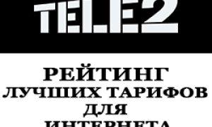 Рейтинг тарифов Теле2 для интернета