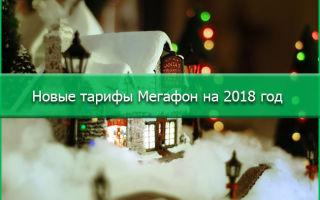 Новинки от Мегафона на 2018 год для организаций и частных лиц