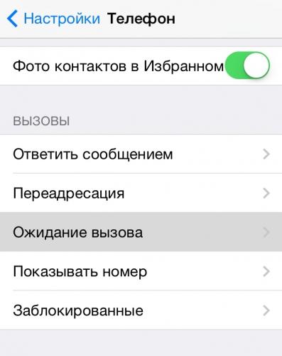 Где в айфоне находиться черный список